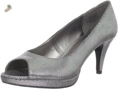 Bandolino Women's Mylah Peep Toe Pump,Silver,5.5 M US - Bandolino pumps for women (*Amazon Partner-Link)