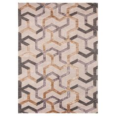 This could be great in the Master Bedroom! Jaipur J2 Jannu Antique White Hand Knotted Wool Rug @Zinc_Door