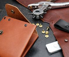 Learn the the fundamental skills you need to start working with leather by making a simple, useful wallet! In this class you'll be introduced to a wide range of...
