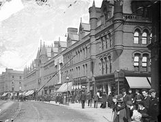 South City Market, Dublin City, Co. Dublin (Georges Street) c 1865 - 1914 Old Pictures, Old Photos, Vintage Photos, Restaurants In Dublin, Irish Independence, Images Of Ireland, Ireland Pictures, Ireland Homes, Dublin City