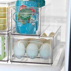 Freezer Organization, Refrigerator Organization, Container Organization, Refrigerator Freezer, Storage Containers, Kitchen Organization, Organization Hacks, Organizing Tips, Cleaning Tips