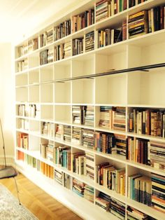 Bookshelf, architect Fredo stortz