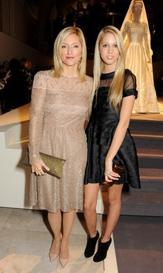 Like mother, like daughter! Olympia and her mom Crown Princess Marie-Chantal made a chic pair at a private viewing for London's Valentino: Master Of Couture exhibition in Olympia, Marie Chantal Of Greece, Greek Royalty, Greek Royal Family, Greece Fashion, Casa Real, Royal Dresses, Princesa Diana, Royal Fashion