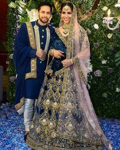 Most Popular Sabyasachi Lehenga Designs For Brides of 2019 - Latest Wedding Ideas & Inspiration Indian Bridal Lehenga, Indian Bridal Fashion, Indian Wedding Outfits, Red Lehenga, Pakistani Bridal, Bridal Outfits, Lehenga Choli, Bridal Dresses, Bengali Wedding