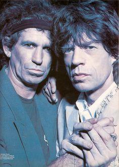 Mick, Keith
