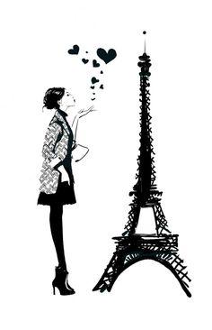 Couverture du livre l'Amour à La Parisienne, éditions Michel Lafon