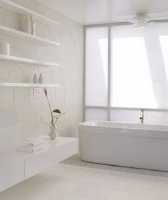 hoffman st - modern - bathroom - san francisco - by Ken Gutmaker Architectural Photography