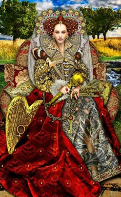 The Empress by Erik Dunne (Tarot Illuminati)