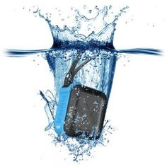 Portable Outdoor Shower Bluetooth Speaker by AYL Soundfit, Water Resistant, Wireless with 10 Hour Rechargeable Battery Life, Powerful Audio Driver, Pairs with All Bluetooth Devices (Ocean Blue) Wireless Outdoor Speakers, Waterproof Bluetooth Speaker, Portable Speakers, Stereo Speakers, Bluetooth Speakers, Portable Outdoor Shower, Outdoor Dog, Shower Speaker, Good And Cheap
