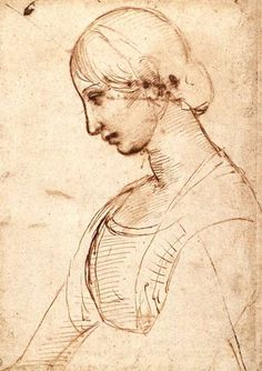 Portrait of a Young Woman, Raphael Large image:HERE