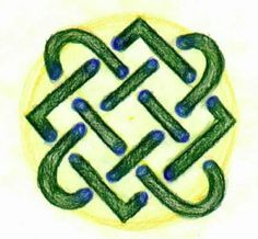 Waldorf ~ 4th grade ~ Form Drawing ~ Longobardian Knot