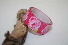 Masking tape (washi) - formes fleurs - de 3 mètres  : Masking tape par ma-chtite-boutique