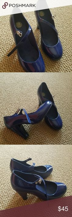 01499503d1 melissa jelly pump shoes cute jelly shoes only wore couple times bought it  online from canada
