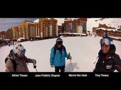 Une journée avec les champions de Val Thorens www.valthorens.com #ValThorens #Snow #Ski #Freeride