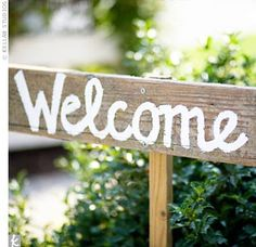 Welcome Sign #1