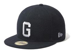 Melton Wool G Fitted Cap by WACKO MARIA x NEW ERA Fitted Baseball Caps a938a5469d5