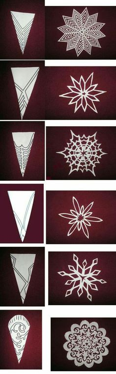 Schneeflocken aus Papier – Hmd – Let's Pin This – Origami Holiday Crafts, Fun Crafts, Diy And Crafts, Christmas Crafts, Crafts For Kids, Christmas Decorations, Paper Crafts, Christmas Ornaments, Christmas Paper
