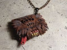 Harry Potter Monsters Book pendant.  Made with Great love to Harry Potter world.