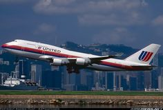 United Airlines N182UA Boeing 747-422 aircraft picture