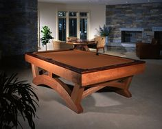 Arch Pool Table by Hatch Studio