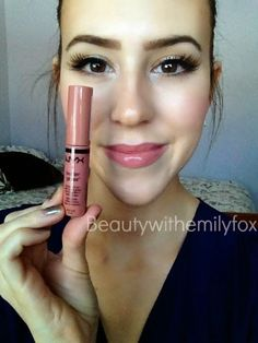 NYX Butter Gloss - Tiramisu - Nude pinkish brown.
