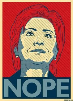 No Hillary 2016. NEVER LET A CLINTON RESIDE IN OUR WHITE HOUSE EVER AGAIN…