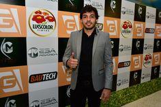 Ricardo Goulart, jogador do Cruzeiro, durante a cerimônia de entrega do Troféu Mesa Redonda 2014. Créditos: Fernando Dantas