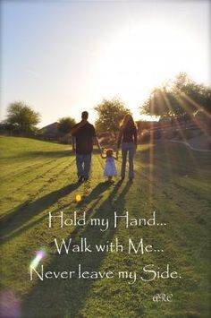 Family Photography - Mom, Dad & Child, Adoption & Touching Quotes