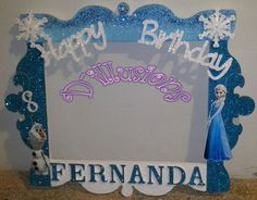 Marco para Fotos Elsa Frozen:
