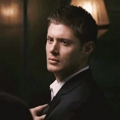 [gif]  #DeanWinchester ...if looks could kill...  #Supernatural 1.13