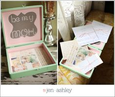 Will you be my Bridesmaid? :: Unique way to ask your favorite gal to be a part of your wedding day.