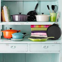 Le Creuset collection OH GOSH......I shouldn't want this collection so miuch...but I so do!!!!