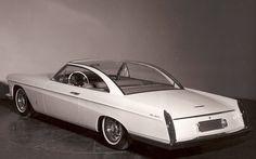 1959 Cadillac Starlight Concept car designed by world reknown designer from Italy.(Pininfarina)