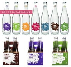 design inspiration: dry soda packaging | a new journey