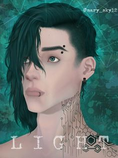 •Character: Light/Yaroslav (my OC) •Artist: @mary_sky (me) •App used: Autodesk Sketchbook Pro ♡FOLLOW ME ON INSTAGRAM FOR MORE♡ (@mary_sky12) Sketchbook Pro, Me App, Follow Me On Instagram, Artworks, Oc, Mary, Artist, Movie Posters, Character