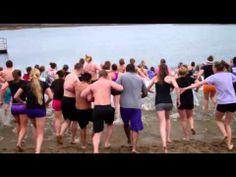 UNI Coaches, Student-Athletes Take a Leap for Kate - YouTube