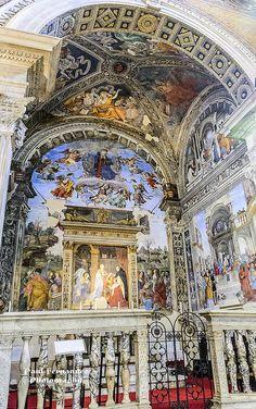 Carafa Chapel, 1489-91 Santa Maria Sopra Minerva, Rome, Italy Frescoes by Filippino Lippi