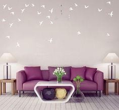 Moderné interiérové zrkadlá s motívom vtákov Love Seat, Couch, Furniture, Design, Home Decor, Settee, Decoration Home, Sofa, Room Decor