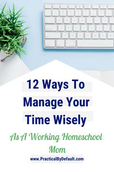 Are you working and working but accomplishing NOTHING? Learning to manage your time wisely is the key to getting things done on time and keeping your sanity. #productivitytips #timemanagement #workingmom