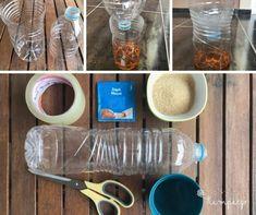 Αυτοσχέδια παγίδα κουνοπιών Mugs, Tableware, Diy, Dinnerware, Bricolage, Tumblers, Tablewares, Do It Yourself, Mug