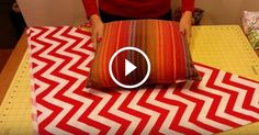 This is the Stitch and Sew Studio bringing you a tutorial on fabric wrapping uusing the no sew pillow sham technique. Have fun!