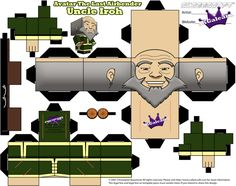 Avatar The Last Airbender Uncle Iroh cubeecraft tm by SKGaleana on DeviantArt