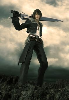 Squall! This makes me happier than is necessary.