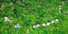 Set in a private nature reserve spread over 900 acres of Central America's last remaining lowland tropical rainforest in Costa Rica, Lapa Rios Rainforest Ecolodge overlooks the pristine point where the Golfo Dulce meets the wild Pacific Ocean. (The Long Run Initiative - Zeitz Foundation)