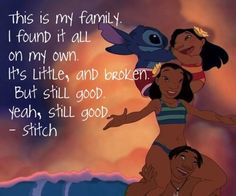 lilo and stitch quote disney Family Quotes Tumblr, Disney Quotes About Family, Quote Family, Famous Disney Movie Quotes, Disney Quotes Tumblr, Disney Quotes To Live By, Beautiful Disney Quotes, Best Disney Quotes, Citations Lilo Et Stitch