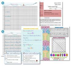 Cycle 3 CM1-CM2 : Fichier écriture cursive et copie, fiche séquence rituel et quelques outils de fiches à coller pour s'auto-évaluer et le marque page du cahier du jour en format A5.