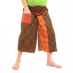 3/5 Bhaep Indien Tibet Style Wickelhose