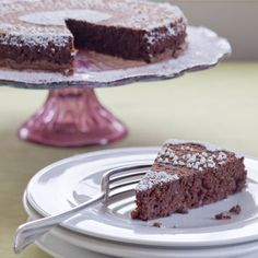 Passover-Perfect Hungarian Chocolate-Walnut Torte: Based on ground walnuts and leavened only with eggs, this light, fudge-luscious cake has not a jot of butter or flour, making it Passover-perfect for meat or dairy meals.