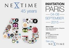 See you NeXtime in Paris! Come to our booth for some refreshing drinks and our refreshing designs, including the new Autumn collection! September, Maison & Objet, Hall Stand D 71 8 September, 45 Years, Refreshing Drinks, See You, Fun Stuff, Invitations, Autumn, Graphic Design, Paris
