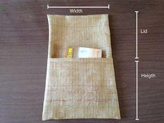 なぜか外国の人に受けてる、切らずに折って縫うだけのお裁縫シリーズ。やや説明したいのでブログにも貼ってみる